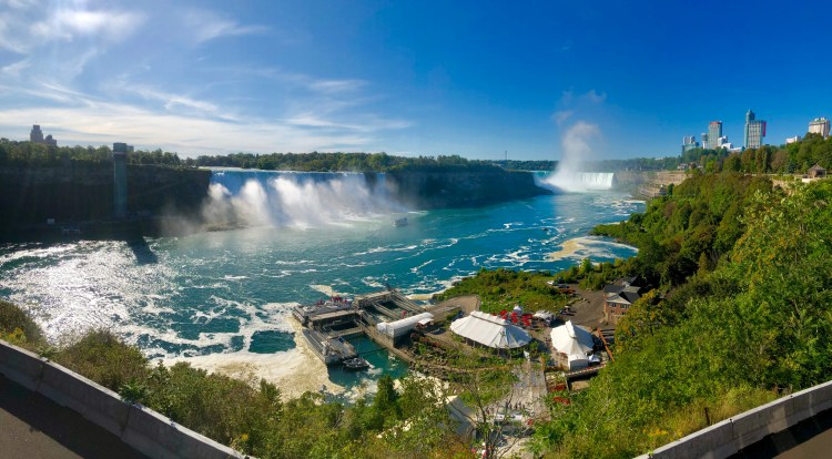 , Niagara Falls – USA and Canada sides, Fit Average Jo