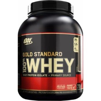 ON (Optimum Nutrition) Gold Standard 100% Whey, 5 Lbs. -0