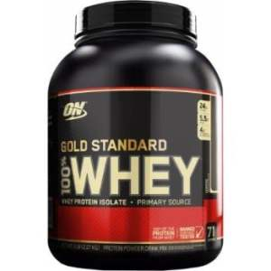 ON (Optimum Nutrition) Gold Standard 100% Whey, 5 Lbs. -0