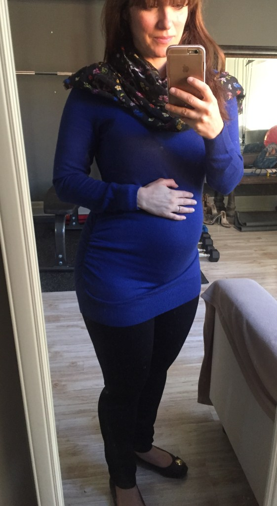 New maternity sweater