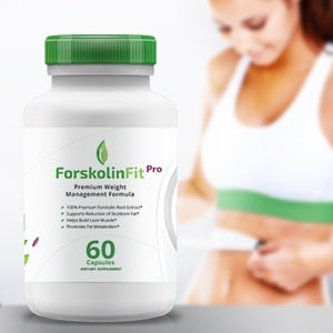 Forskolin Fit Pro | 100% Natural | Pure Forskolin Extract