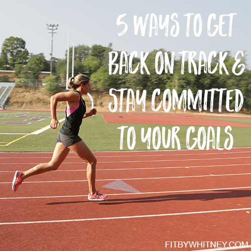 stay committed to your fitness goals