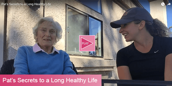 Pats Secrets to a Long Healthy Life Video