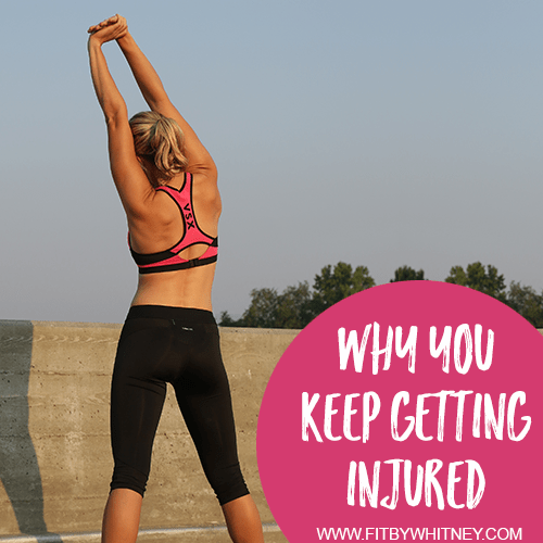 5 Reasons You Keep Getting Injured