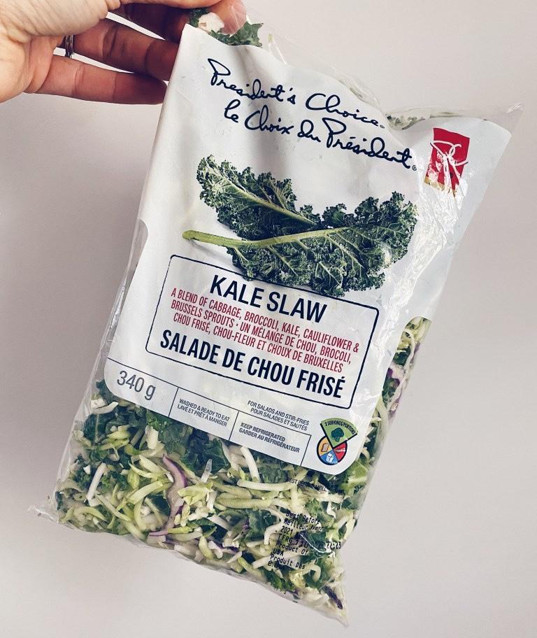 Salade de chou frisé - le choix du président