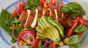 Instead, add some lean chicken breast, avocado and tomatoes to make it much more wholesome, balance and delicious!!!