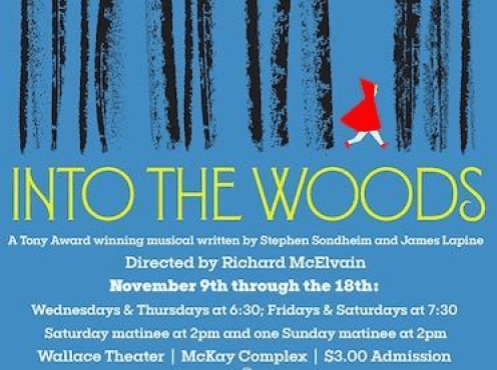 Over in McKay, Into the Woods
