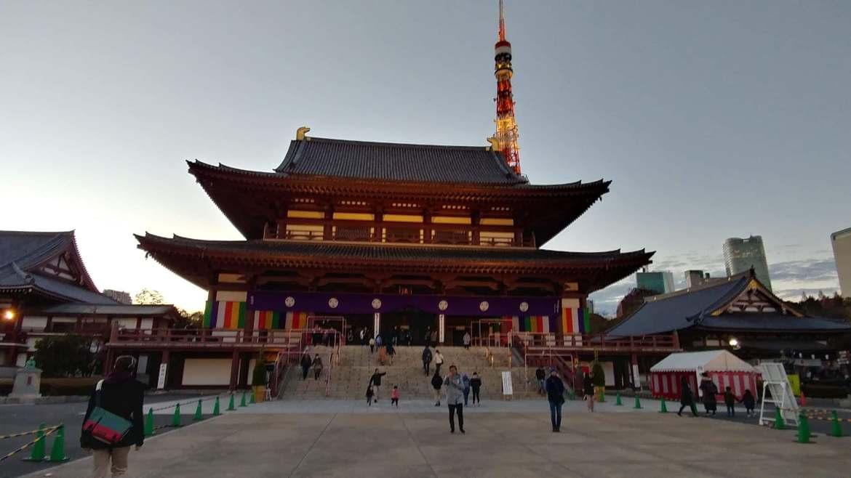 Temple in Minami Kashiwa Japan by Imani Hunter