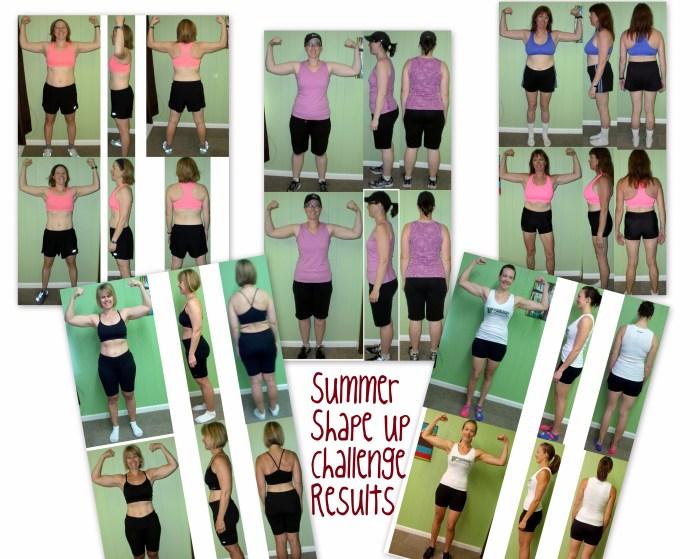 Summer Shape Up Challenge Results 1