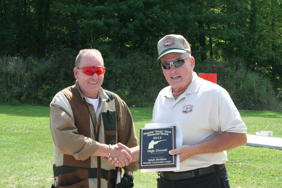 Kim Bisel, High Over All Winner at the 2012 Dean Beck Memorial Shoot
