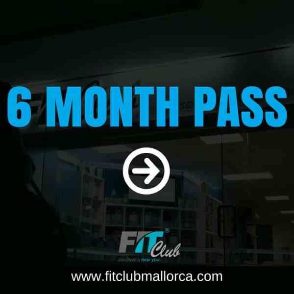 6 month gym pass