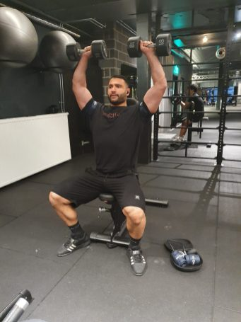 Fit Cuffs - Shoulder Press