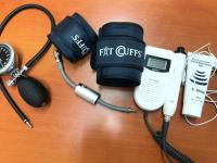 Fit Cuffs Occlusion Training Blood Flow Restriction BFR Training BFR Exercise