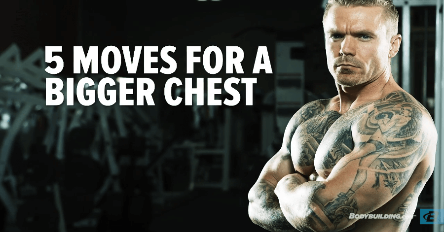 5 best chest workouts