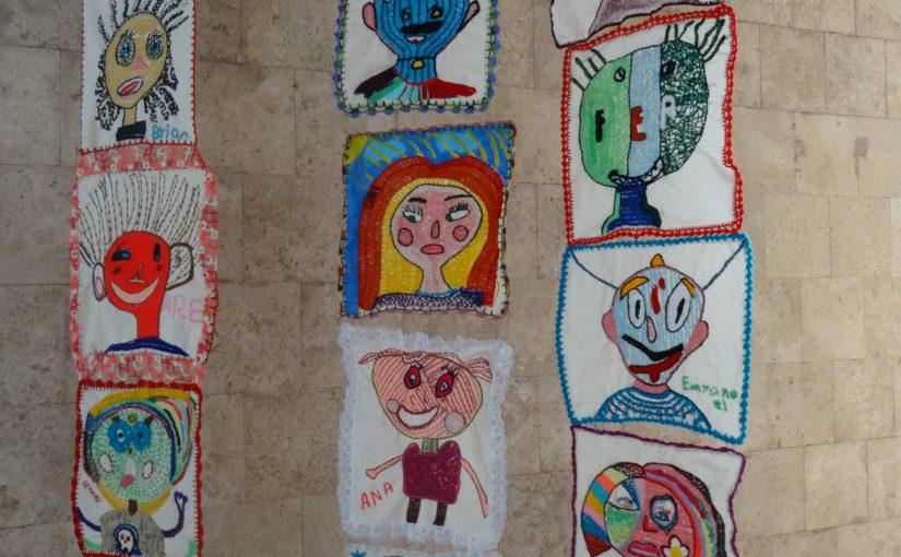 Les enfants des écoles d'Ocotitlan et Amatlan, Morelos et leurs autoportraits «Rebeldes»