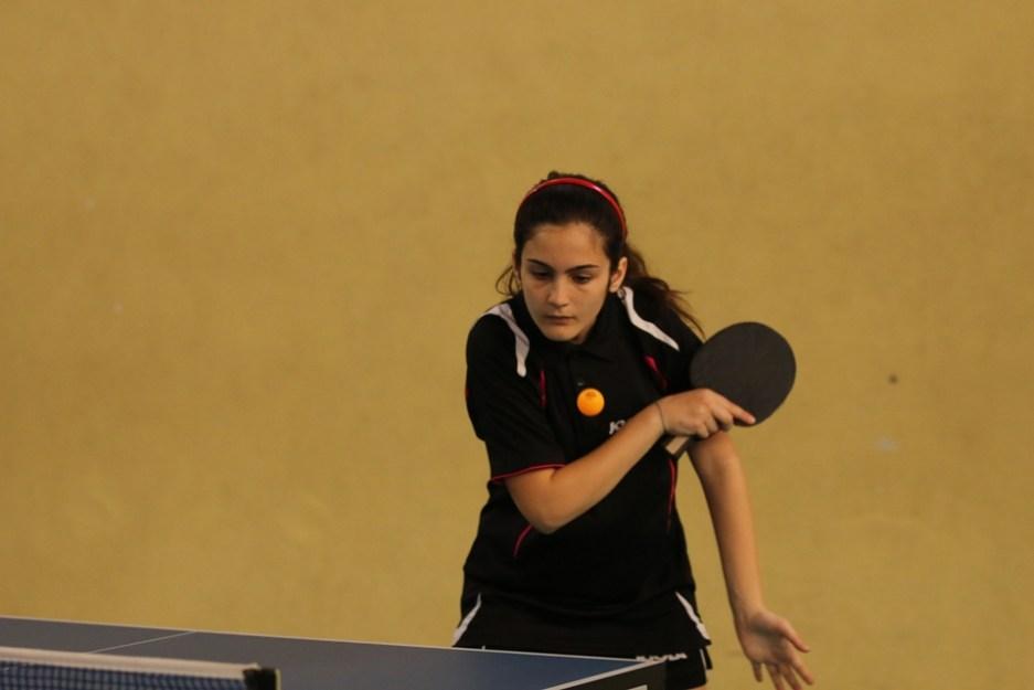 Aurora Piras prima nella categoria Allievi femminile (Foto Gianluca Piu)