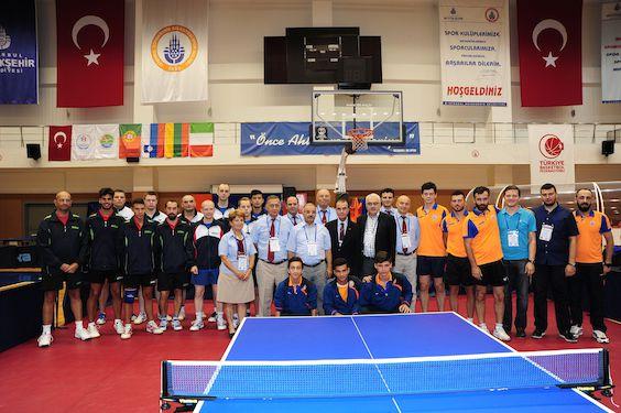 Le quattro partecipanti al girone di Istanbul della Ettu Cup