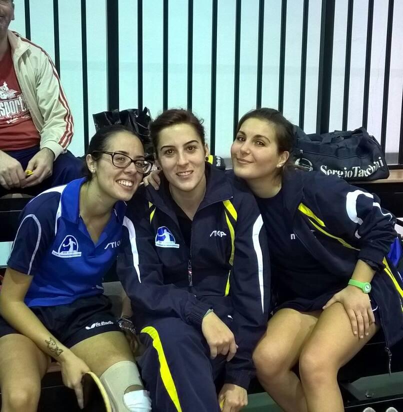 La B femminile dell'Azzurra Cagliari