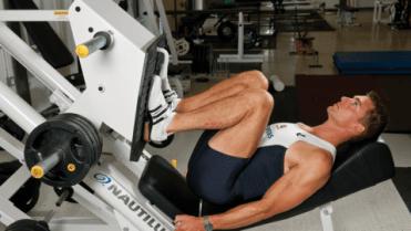 leg press leg day workout