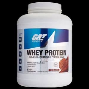 whey protein isolate blend muscle protein shake