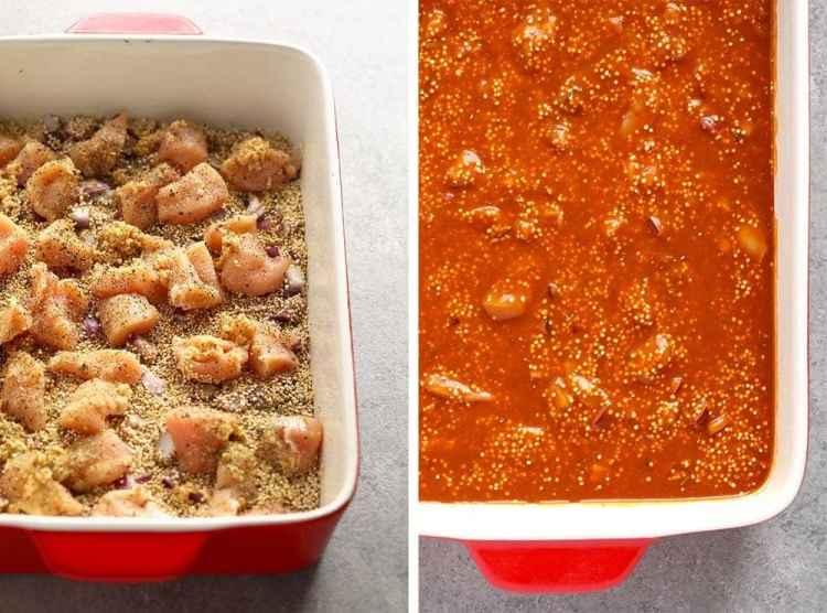 Tuscan Chicken Quinoa Casserole