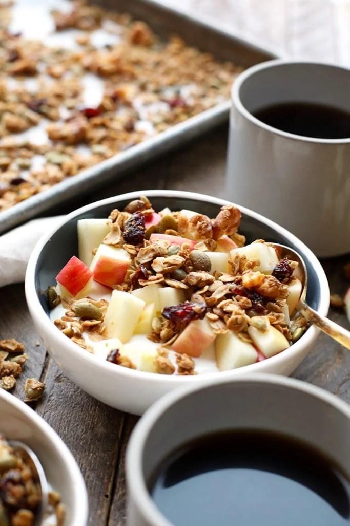 Greek Yogurt Breakfast Bowls