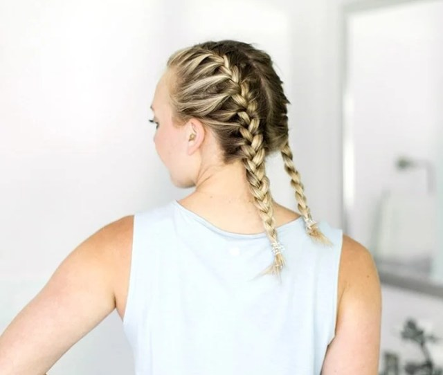 Check Out This Tutorial On How To French Braid Your Own Hair Ill Walk You Through It Step By Step As I Do My Own Hair In Pigtails