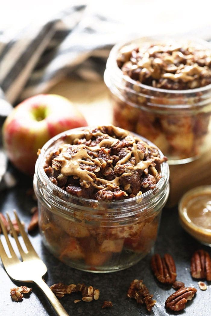 Instant Pot Apfel knusprig in einem Glas!
