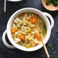 Chicken noodle soup crock pot