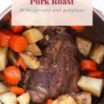 instant pot pork roast pin