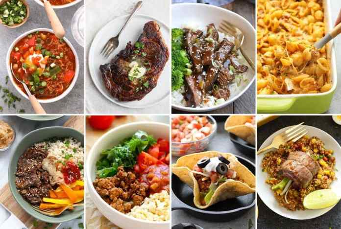 healthy dinner ideas with beef