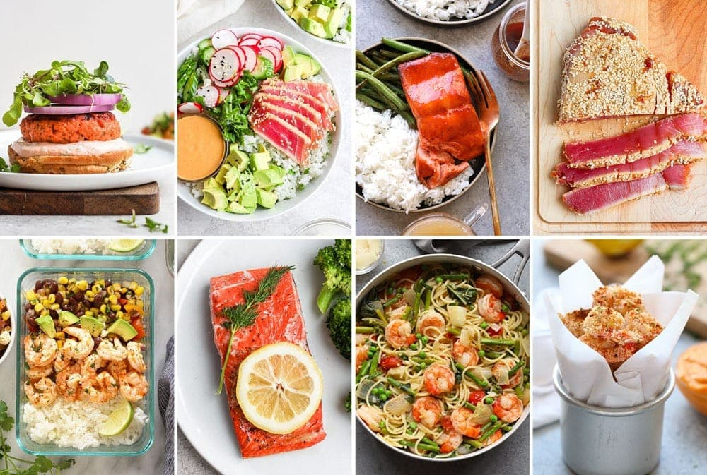 healthy seafood dinner ideas