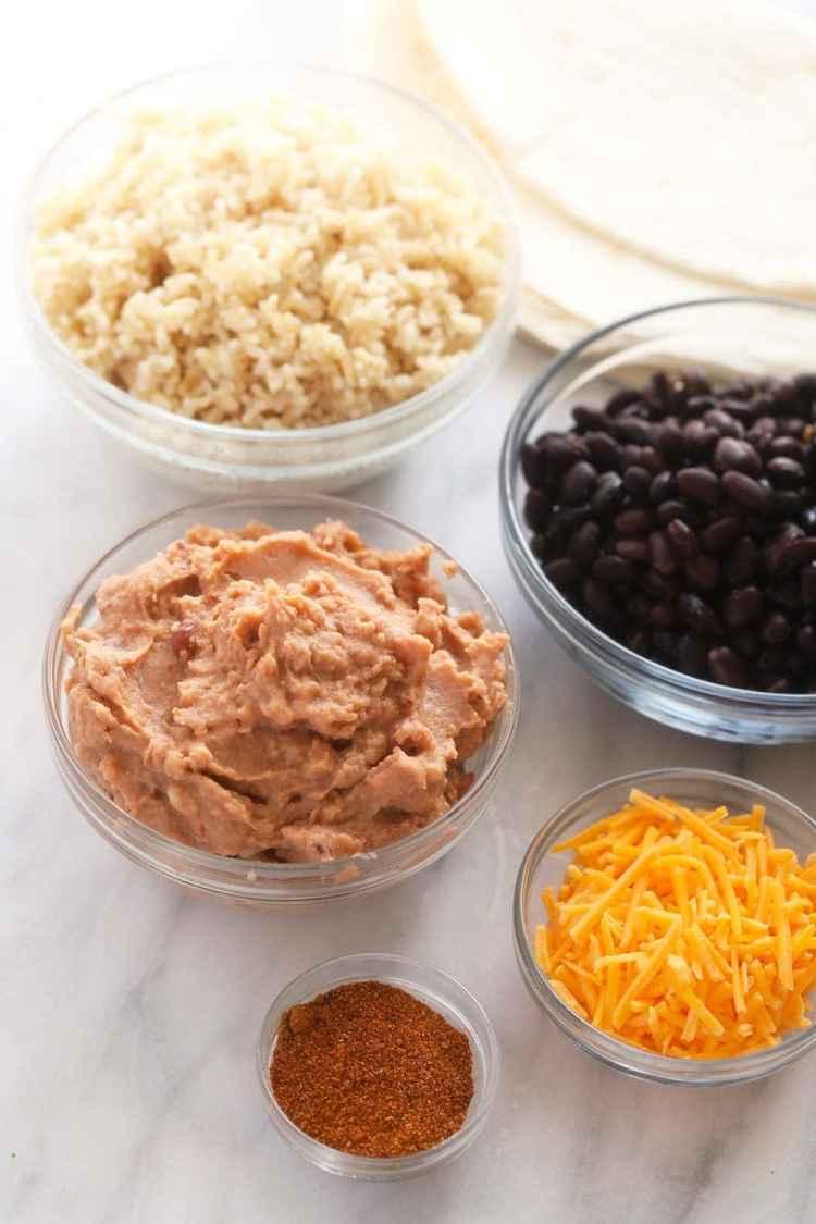 bean burrito ingredients