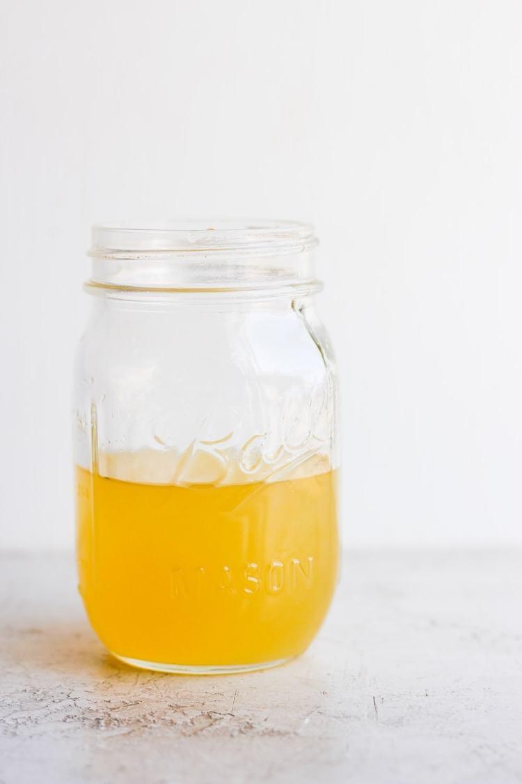 Vinegar in a jar!