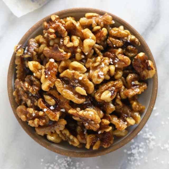 10 Minute Candied Walnuts