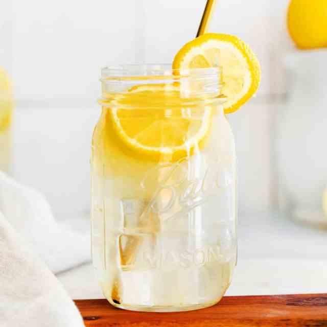 A pitcher of lemonade