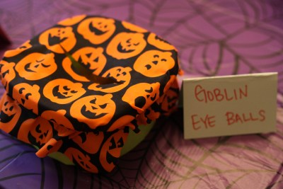 Halloween Party Sensory Station