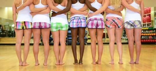 #justlove campaign justgogirl shorts