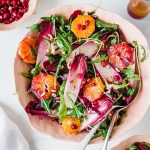 SUPERFOOD SALAD WITH RED CHICORY, BLOOD ORANGES & RED CABBAGE