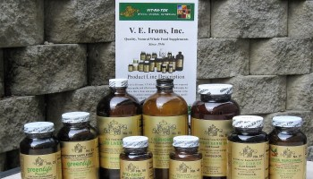 V.E. IRONS PRODUCT OF THE MONTH