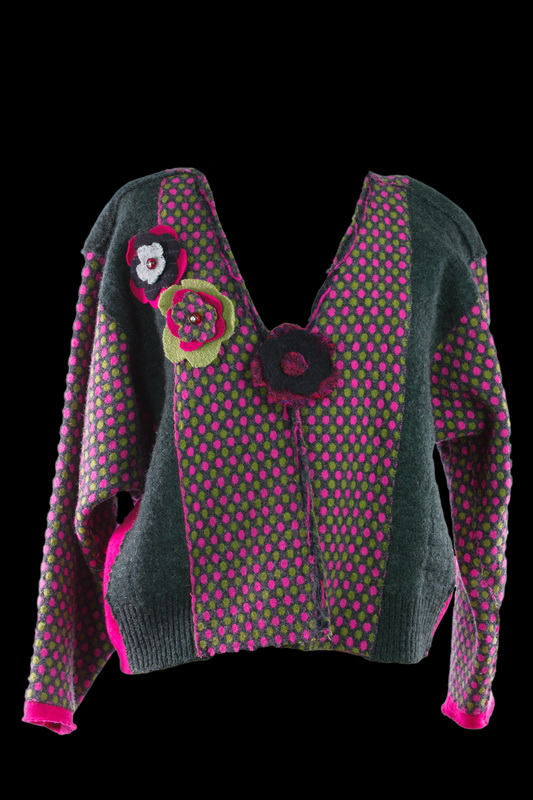 Edye's Felted Wool sweater jacket