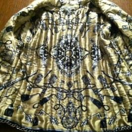 photo french jacket lining
