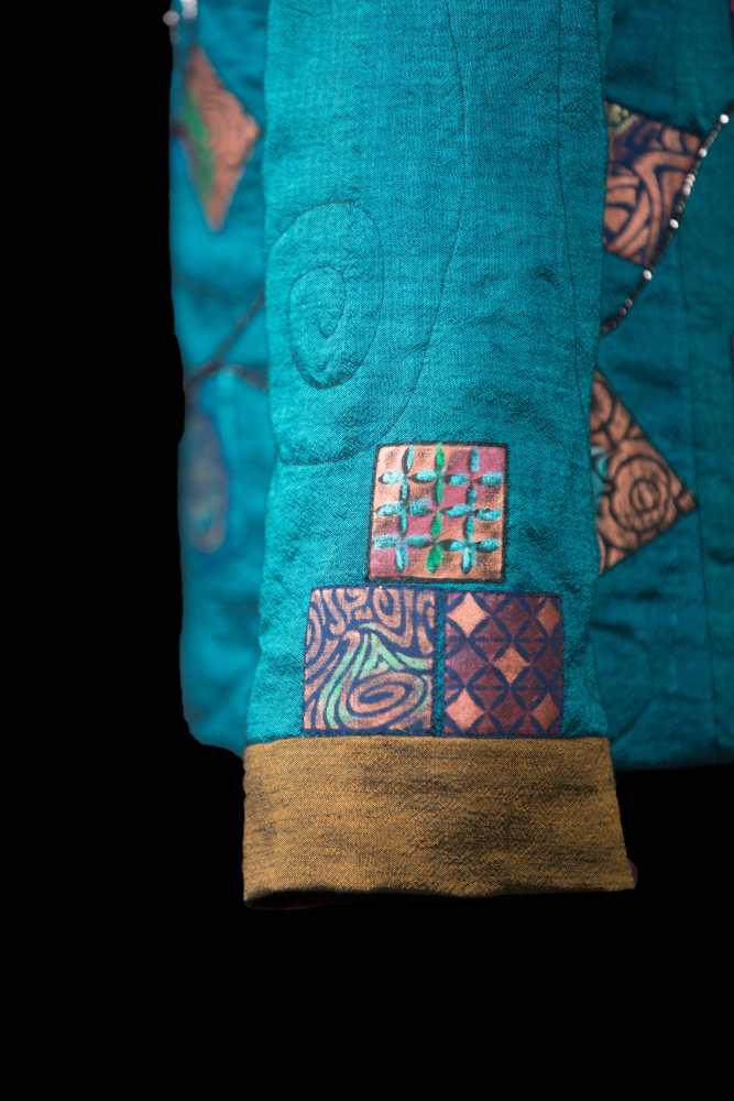 Prayer Flags - sleeve detail