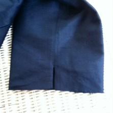 Slit Silk Pants
