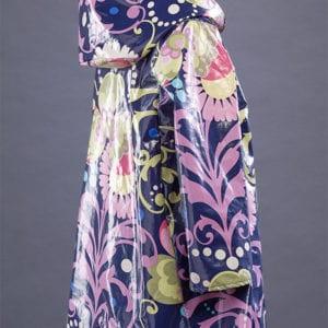 April Showers Cotton Laminated Coat