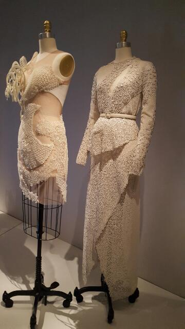 Lace garments at the Met