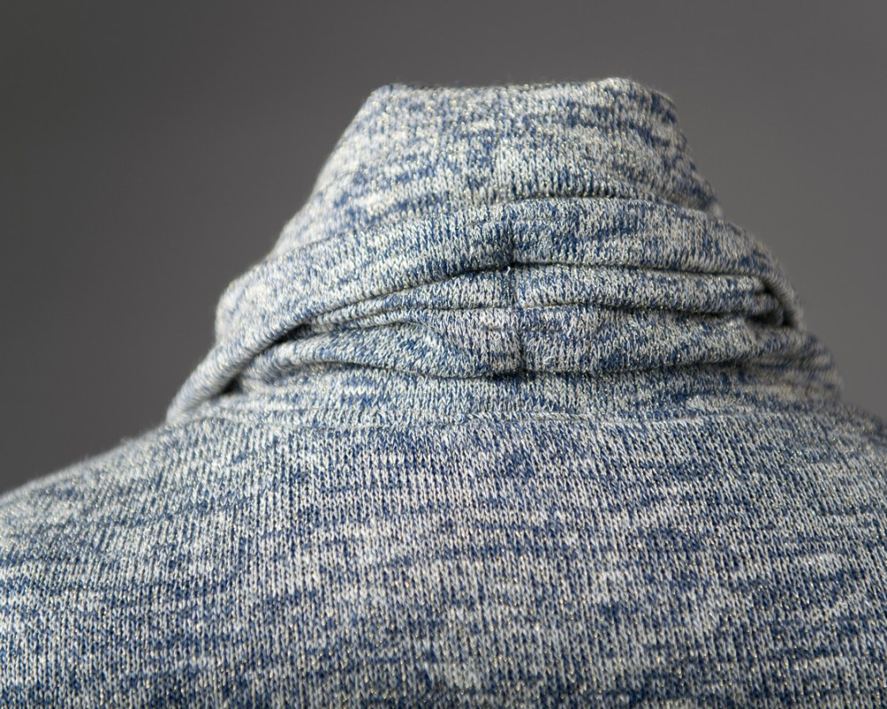 Cowl Neck Sweater, neck detail