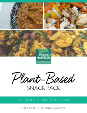 plant based snack pack