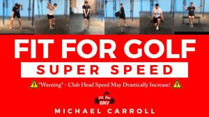 golf club head speed program