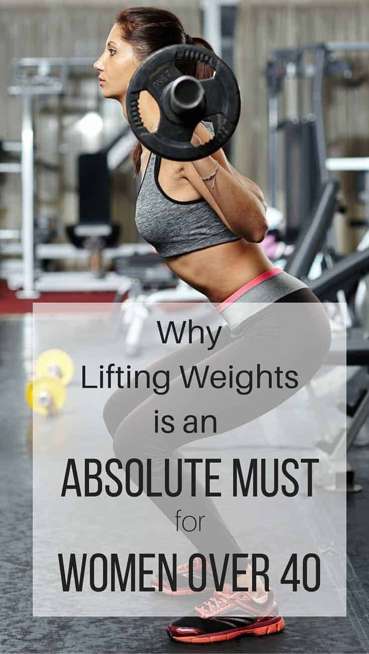 lifting weights